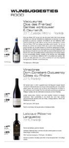 Wines Bistro Blue Origin